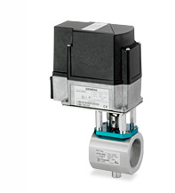 Siemens Industrial SQM41 Control Motor Actuator with Gas Valve